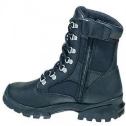 Bates Boots: Women's 47104 Black Derby Waterproof Slip Resistant Work Boots