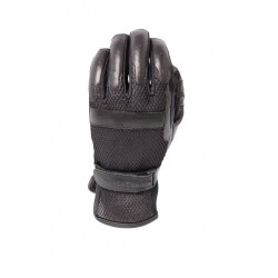 ROADKROME Men's Breather genuine leather and polyester 3D mesh gloves
