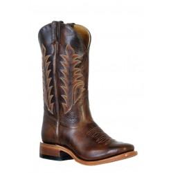 Boulet 9365 Damiana Moka Vintage Square Toe Boots