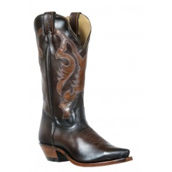 Boulet 9613 Ladies Palermo Brown Snip Toe Boots