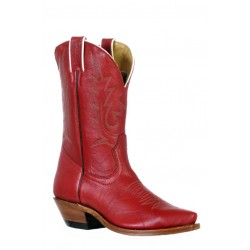 Boulet 9604 Ladies Deerlite Red Snip Toe Boots