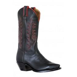 Boulet 9602 Ladies Tianjin Black Snip Toe Boots