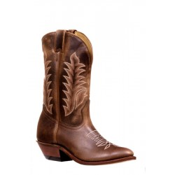 Boulet 7761 Challenger Virginia Mesquite Medium Cowboy Toe Boots