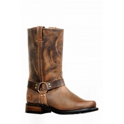 Boulet 8222 HillBilly Golden Broad Square Toe Boots