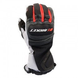 Meteor Textile Gloves Red/ Black