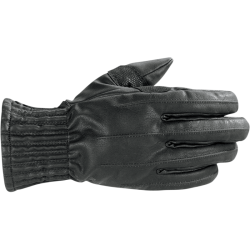 MUNICH WP M BLACK LEATHER GLOVE Alpinestars
