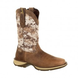 Men's Rebel By Durango Dusty Brown/Desert Camo Western Boots
