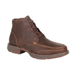 Men's Durango Red Dirt Rebel Bark Brown Lacer Boot