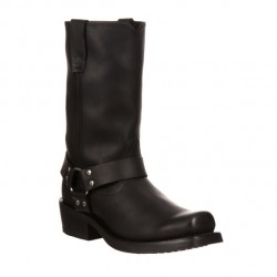 Men's Durango Oiled Black Western Boots