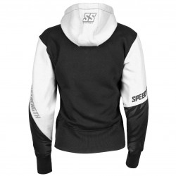 Cat Out'a Hell Armored Hoody White / black