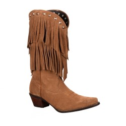 CRUSH BY DURANGO WOMEN'S FRINGE WESTERN BOOT