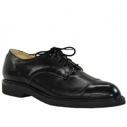 Men`s CANADA WEST® Service Footwear - Black Oxford - Smooth - 12103