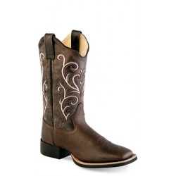 Old West 18118 Ladies Broad Square Toe