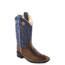 OLD WEST Ultra-Flex Broad Square Toe Boots -BSY1884