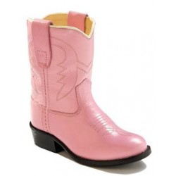 Old West 3119 Toddler's Western Boots - Pink